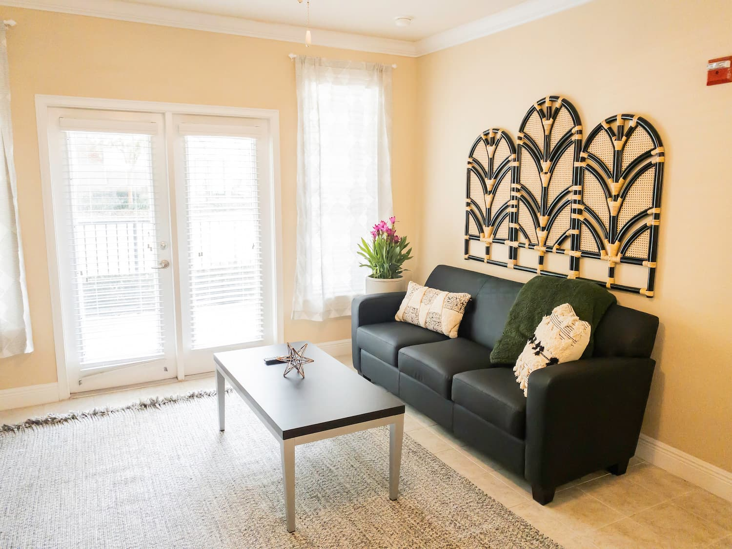 Fully Furnished Living Room