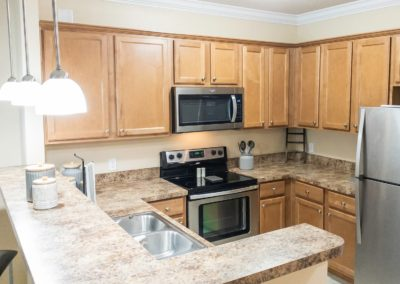 Large Gourmet Kitchen with Stainless Steel Appliances